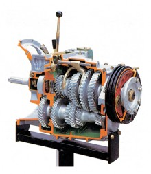 FF11080 Gearbox with Reduction Gear