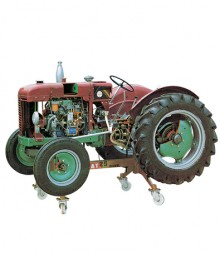 Tractor with Diesel Engine - Fiat 25R - FF8200