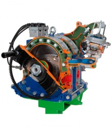 Twin-Rotor Wankel Engine - FF4400