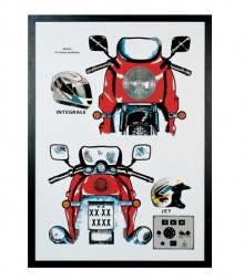 Motorcycle Light System Switchboard - FF13580